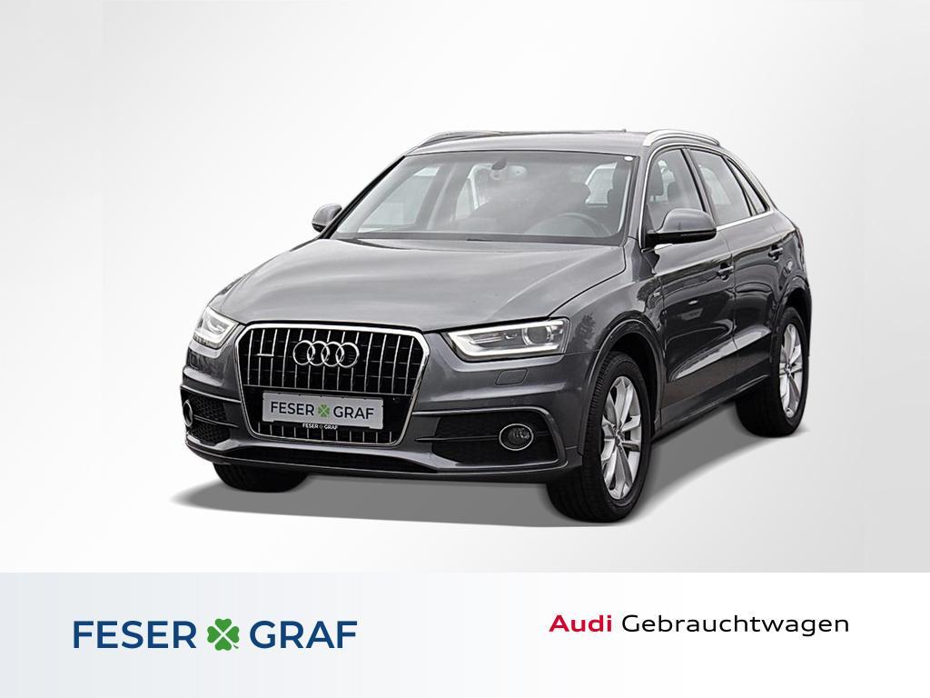 Audi Q3 2.0TFSI qu. S line /Standhzg/Xenon/Navi, Jahr 2013, Benzin