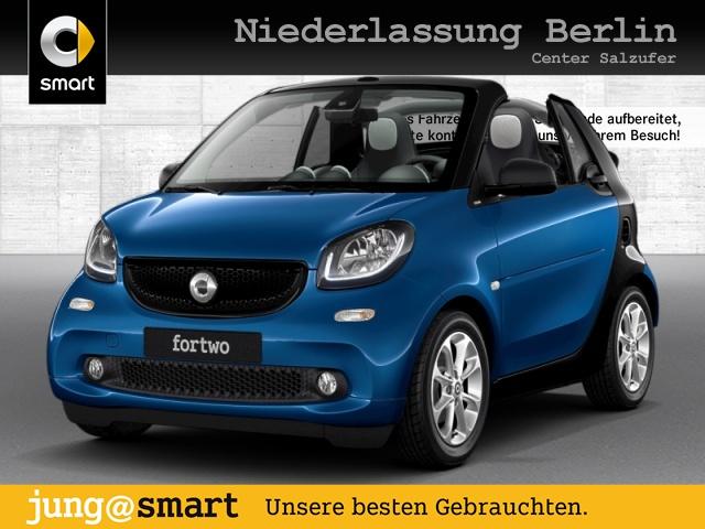 smart fortwo cabrio 66kW passion DCT cool&Media SHZ LED, Jahr 2019, Benzin