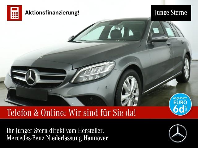 Mercedes-Benz C 200 d T Avantgarde LED Kamera Spurhalt-Ass PTS, Jahr 2019, Diesel