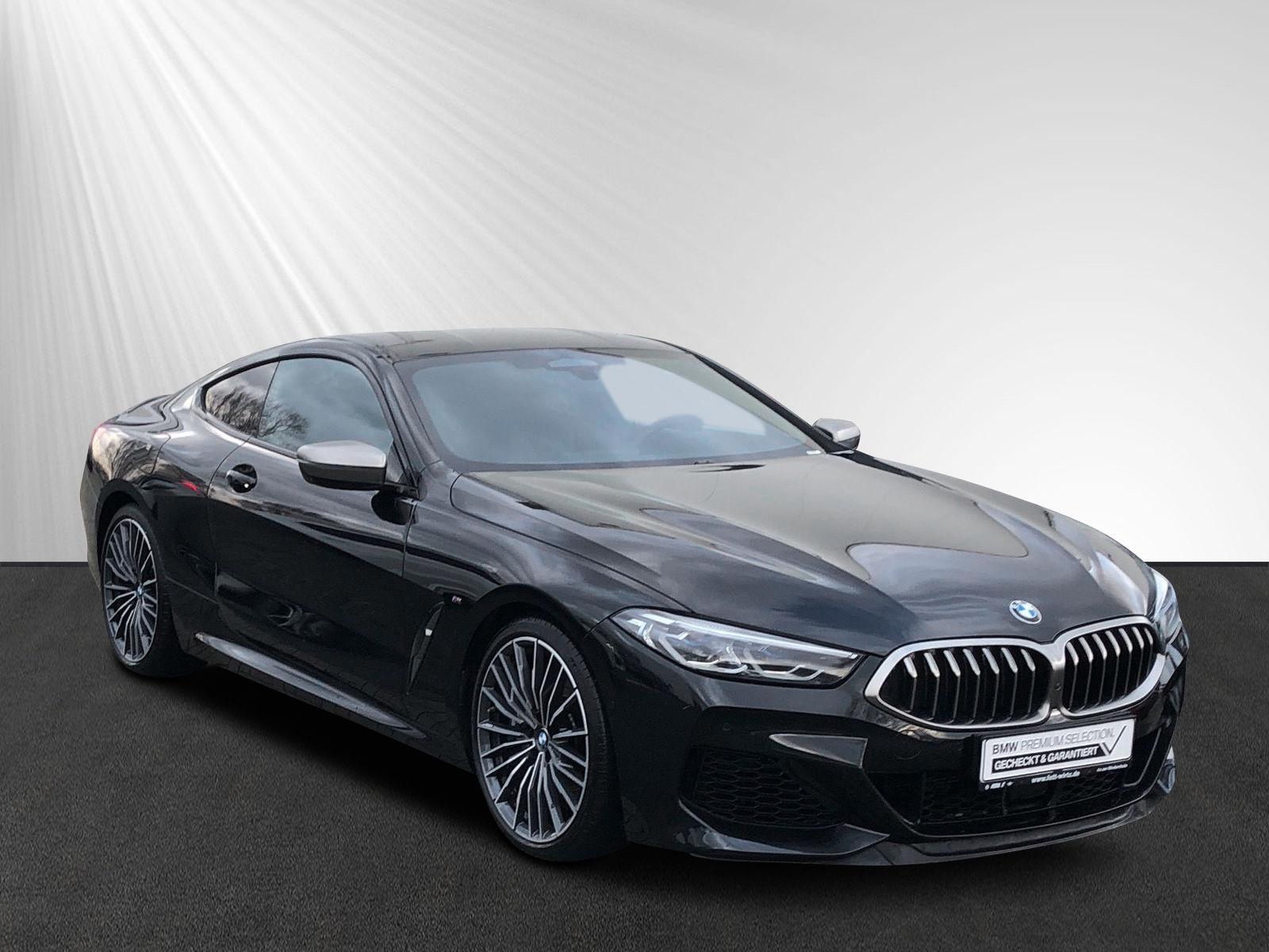 BMW M850i xDrive Coupe 20'' M LMR Laser DA+ PA+, Jahr 2019, petrol