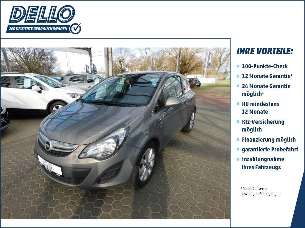 "Opel Corsa Active Radio CD/ Klimaanlage/ LM 16"", Jahr 2013, petrol"