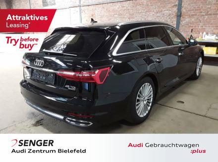 Audi A6 Avant Design 45 TDI Pano Memory Vollleder AHK, Jahr 2019, Diesel