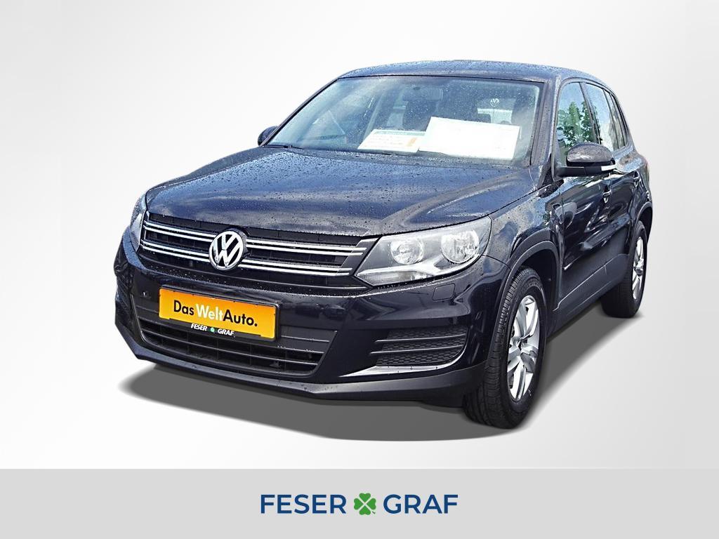 Volkswagen Tiguan Trend & Fun 1.4 TSI Navi PDC Climatronic, Jahr 2014, Benzin