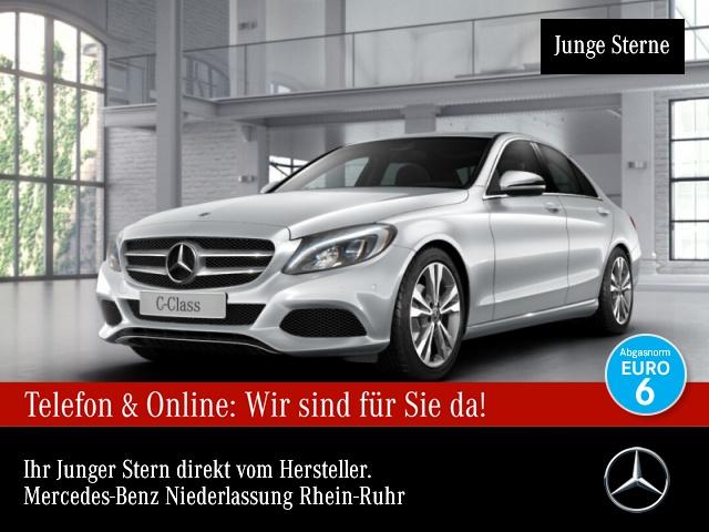 Mercedes-Benz C 180 Avantgarde SHD LED Kamera Navi Totwinkel PTS, Jahr 2018, Benzin