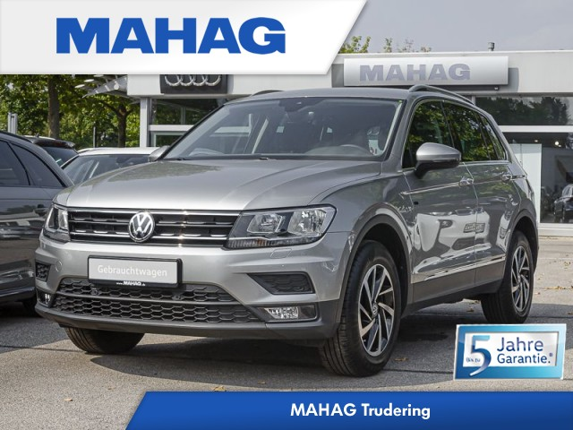 Volkswagen Tiguan 2.0 TDI 4 Motion JOIN Navi/Sitzhzg./PDC/Bluetooth DSG, Jahr 2019, Diesel
