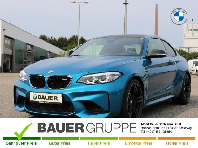 BMW M2 Coupe LED Navi Keyless Kurvenlicht Fernlichtass. PDCv+h LED-hinten LED-Tagfahrlicht, Jahr 2017, Benzin