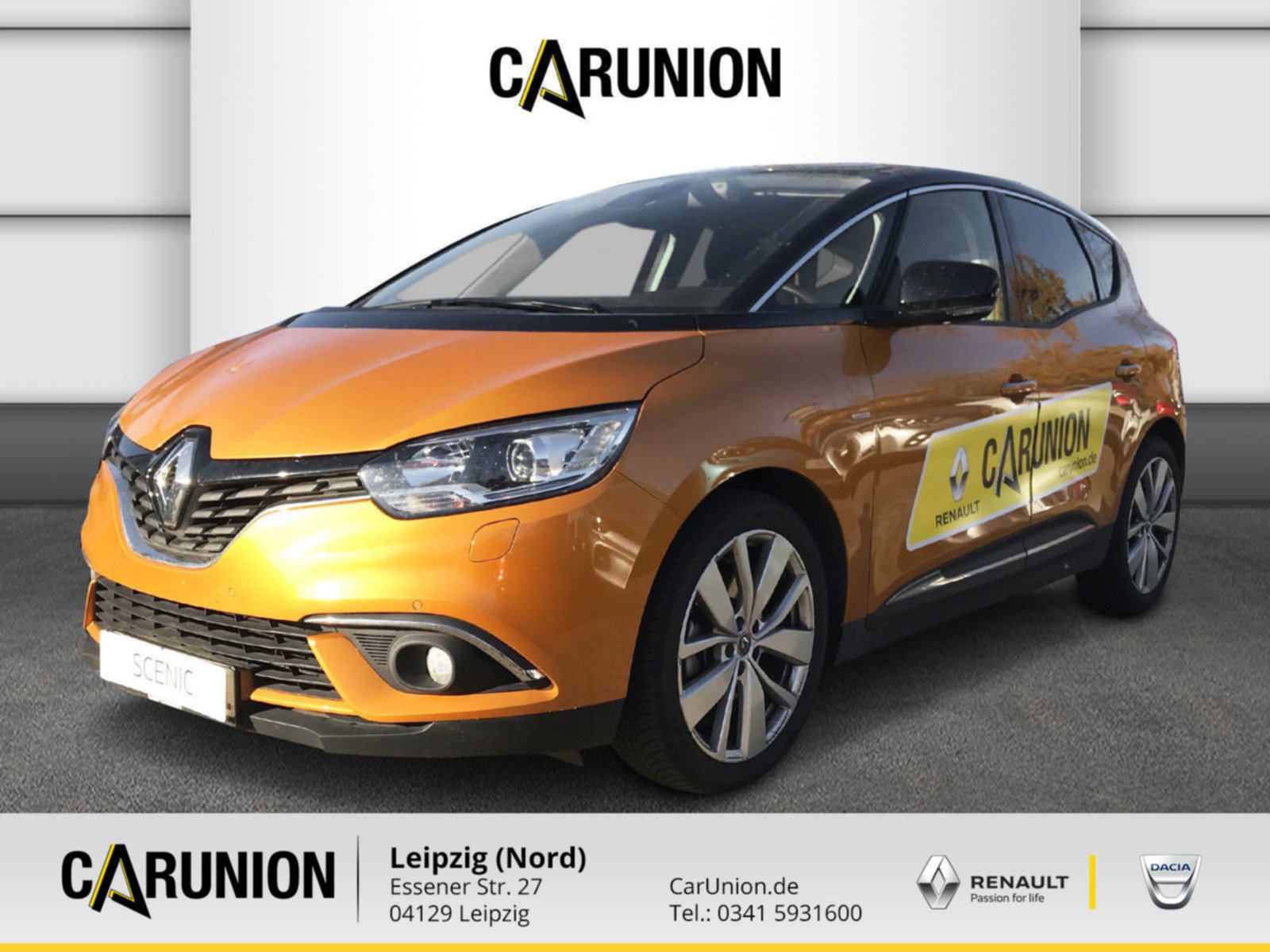 Renault Scenic LIMITED Deluxe TCe 140 GPF Navi, Jahr 2019, Benzin