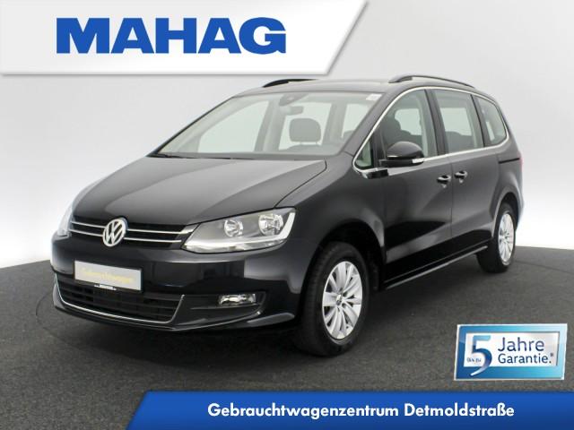 Volkswagen Sharan Comfortline 2.0 TDI 7-Sitzer Navi Sportsitze DAB+ Bluetooth BlindSpot LaneAssist 16Zoll DSG, Jahr 2020, Diesel
