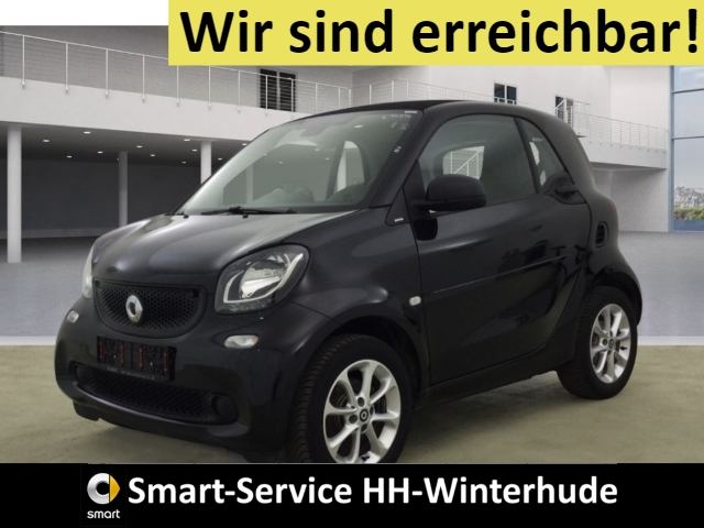 smart fortwo passion NAVI+TOUCHSCREEN+BT+USB+ISOFIX, Jahr 2018, Benzin