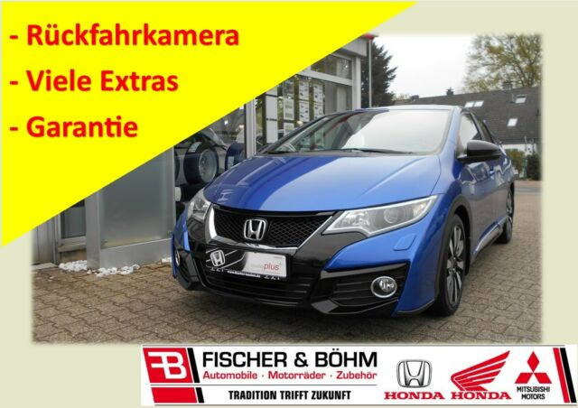 Honda Civic 1.4 Elegance + Kamera + Garantie, Jahr 2015, Benzin