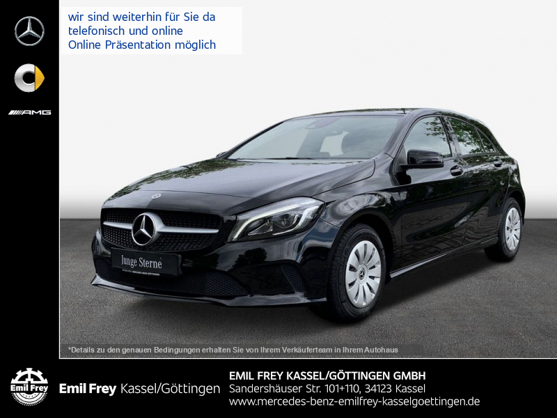 Mercedes-Benz A 160+LED+Kamera+SmartIntegration, Jahr 2017, Benzin
