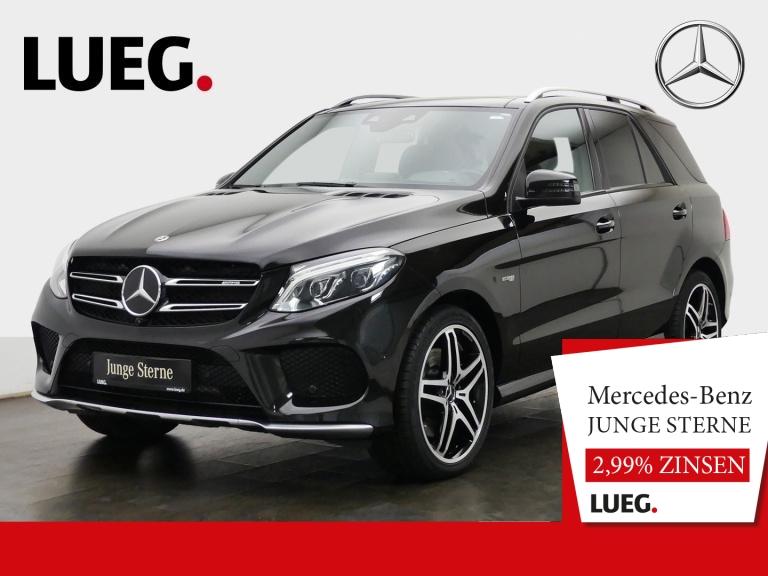 Mercedes-Benz GLE 43 AMG 4M COM+Pano+Airm+AHK+H&K+21+Sthzg+360, Jahr 2017, Benzin