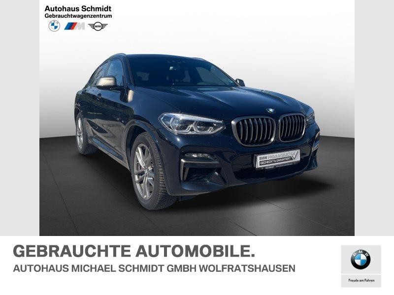 BMW X4 M40i Standheizung*AHK*Galvanik*DAB*Head Up*, Jahr 2021, Benzin