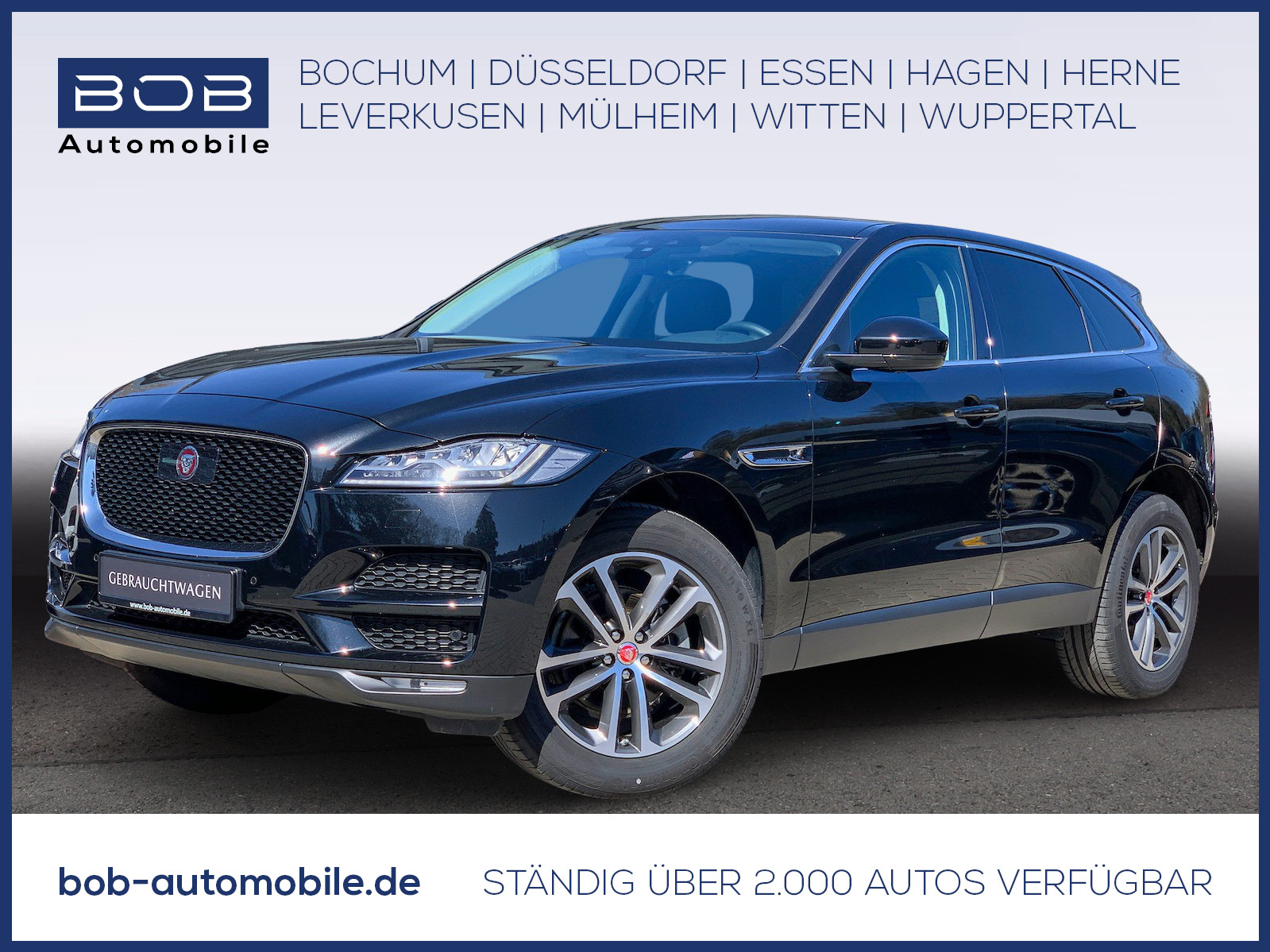 Jaguar F-Pace finanzieren