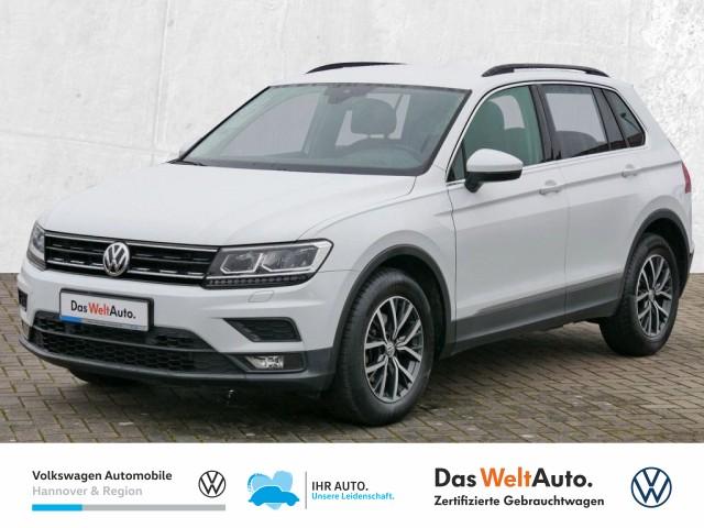 Volkswagen Tiguan 2.0 TDI BMT Comfortline LED AHK Klima Sitzheiz PDC, Jahr 2017, Diesel