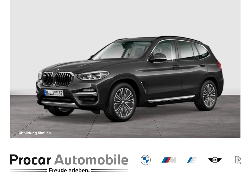 BMW X3 xDrive30d A Luxury Line HuD Navi LED Pano 19, Jahr 2018, Diesel