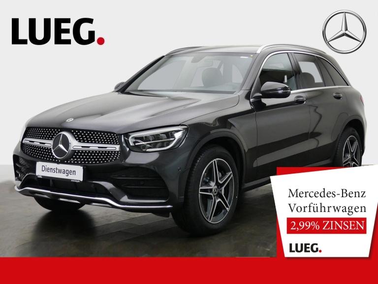 Mercedes-Benz GLC 220 d 4M AMG+AHK+LED+KAMERA+MBUX+EL.HECKKL., Jahr 2020, Diesel