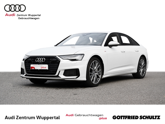 Audi A6 55TFSI QUAT. S-LINE ACC LEDER MATRIX B&O VIRTUAL DAB SHZ NAV GRA PDC VO HI FSE BT 20ZOLL, Jahr 2019, Benzin