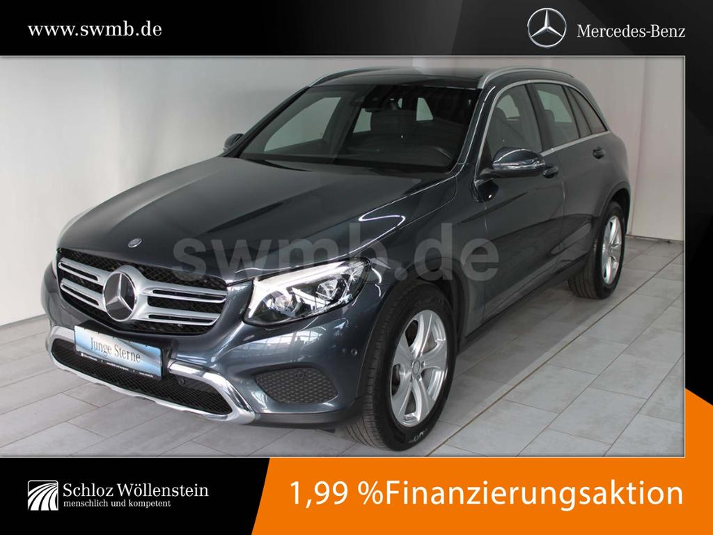 Mercedes-Benz GLC 220 d 4M Exclusive DISTRONIC/PanoramaSD/AHK, Jahr 2015, Diesel