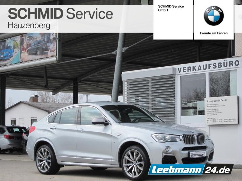 BMW X4 M40i S-Aut. StHz/AHK/HK-HIFI 2 JAHRE GARANTIE, Jahr 2017, Benzin