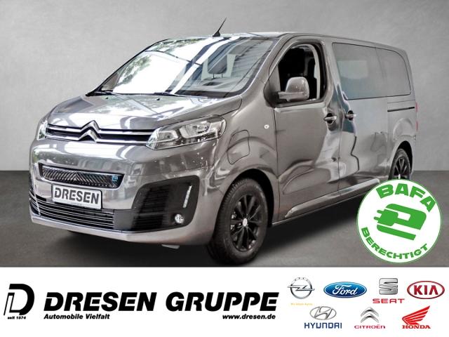 Citroën Spacetourer Business M Elektromotor KOMBI L2 H1 Navi+Rückfahrkamera+PDCv+h+LED-Tagfahrlicht+SHZ, Jahr 2021, Elektro