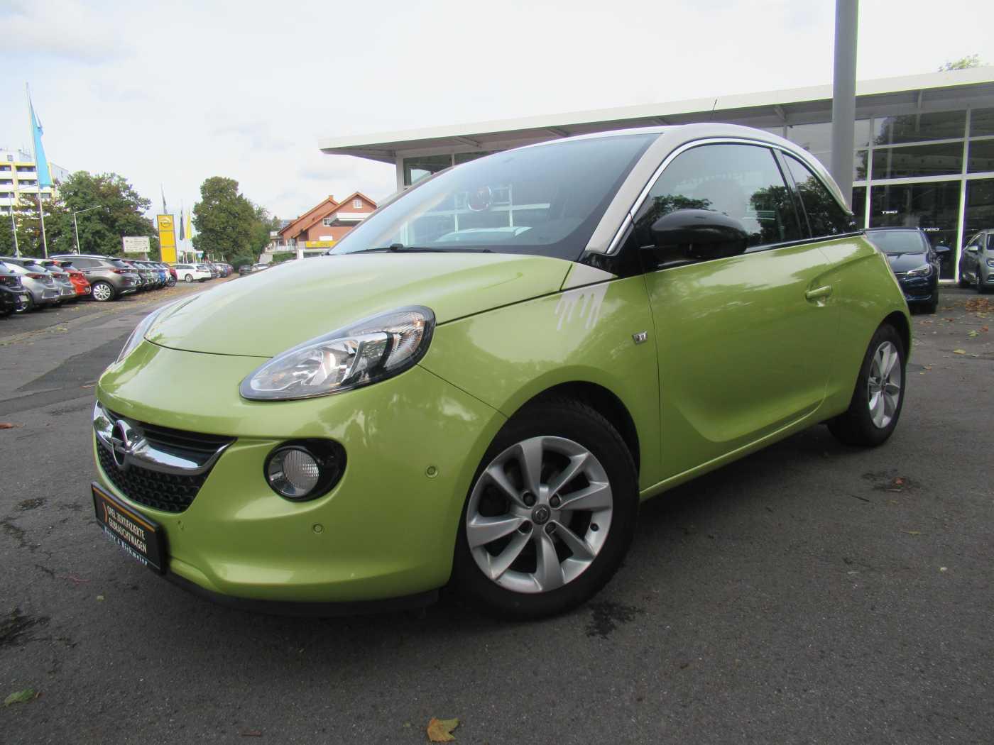 Opel Adam 1.4 Jam INTELLILINK+PARKASSISTENT+MULTICOLOR LED, Jahr 2014, Benzin