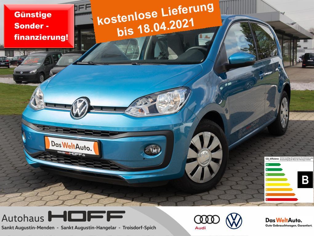 Volkswagen up! 1.0 move up! Maps+More Klima Bluetooth Sitzh, Jahr 2019, Benzin