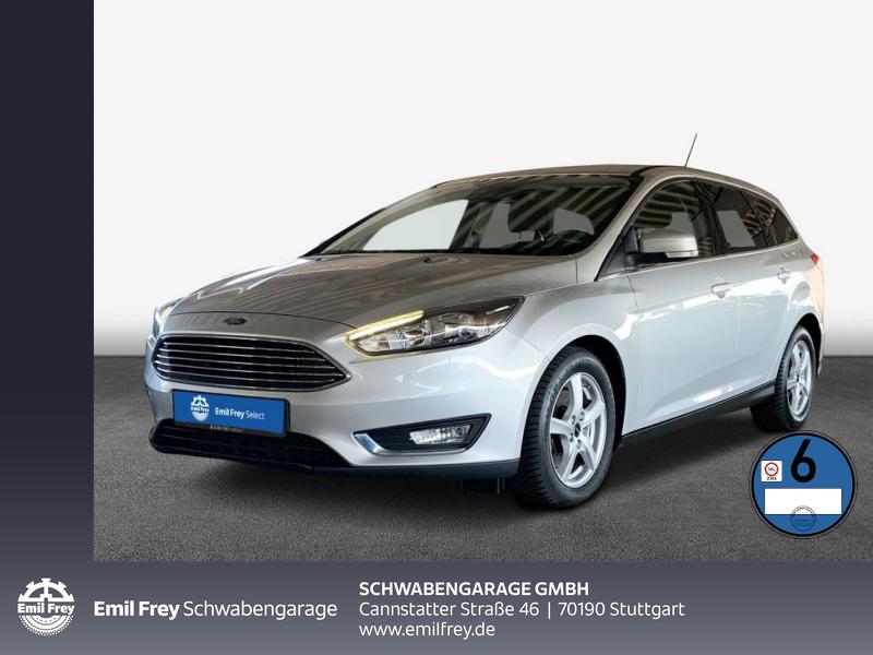 Ford Focus Turnier 2.0 TDCi DPF Aut. Titanium Navi, Jahr 2017, Diesel
