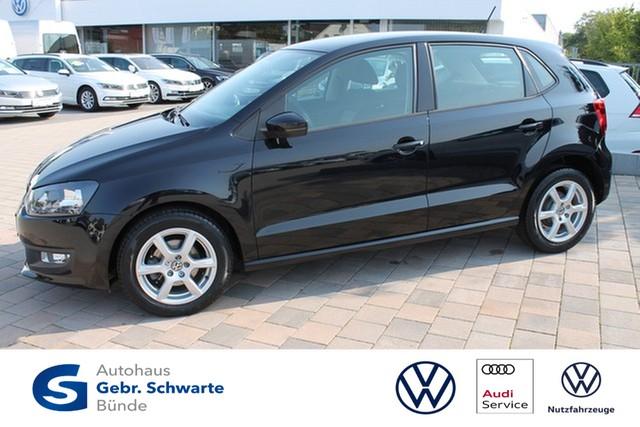 Volkswagen Polo 1.2 Trendline Klima+ESP+LM-Felgen+F-ZV, Jahr 2013, Benzin