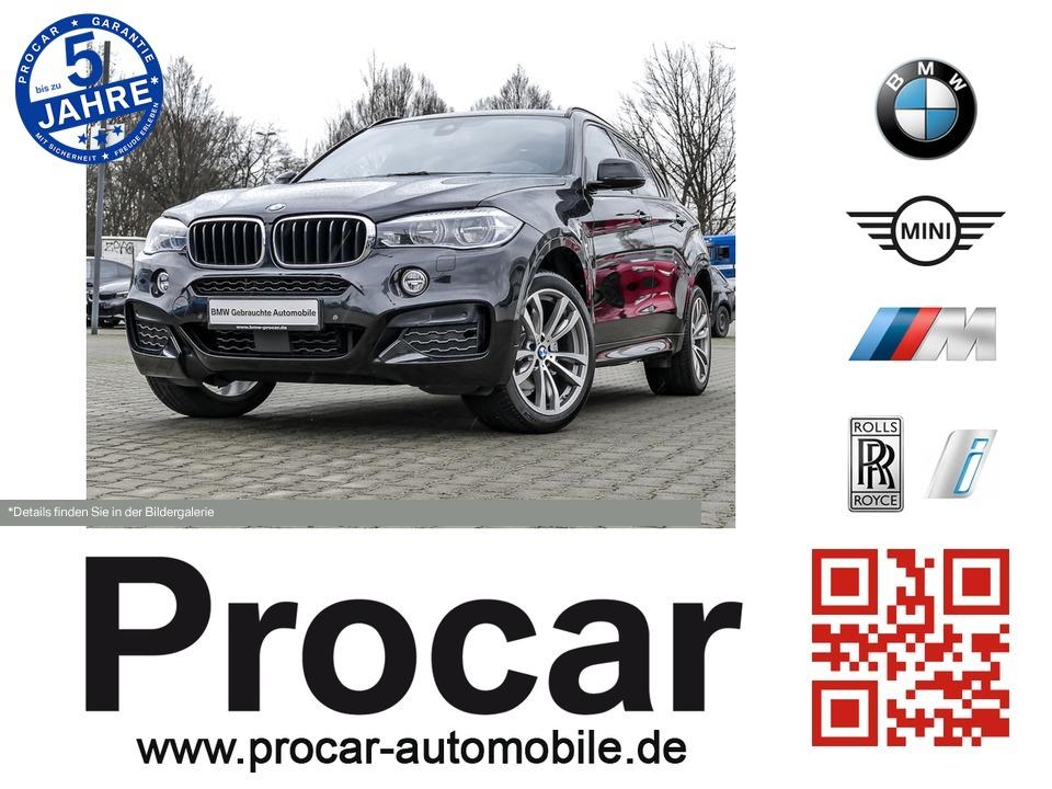 BMW X6 xDrive30d M-Sport LED HUD AHK H/K Soft-Close, Jahr 2015, diesel