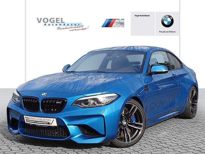 BMW M2 Coupé M Drivers Package Euro 6 Navi Prof RFK PDC Klima Shz LED Tempomat Lichtpaket, Jahr 2018, Benzin