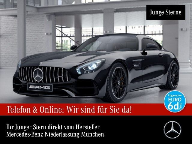 Mercedes-Benz AMG GT C Perf-Sitze+AbGas/Keramik/Carbon/Night, Jahr 2018, Benzin