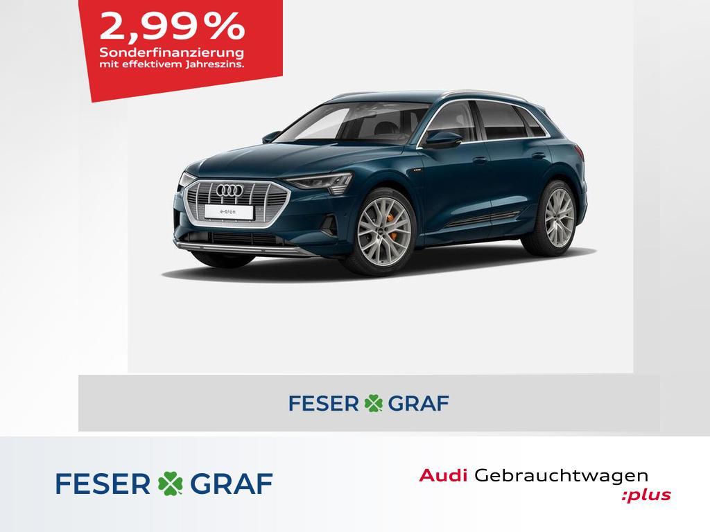 Audi e-tron advanced 55 quattro 265 kW Alu-21`, Jahr 2020, Elektro