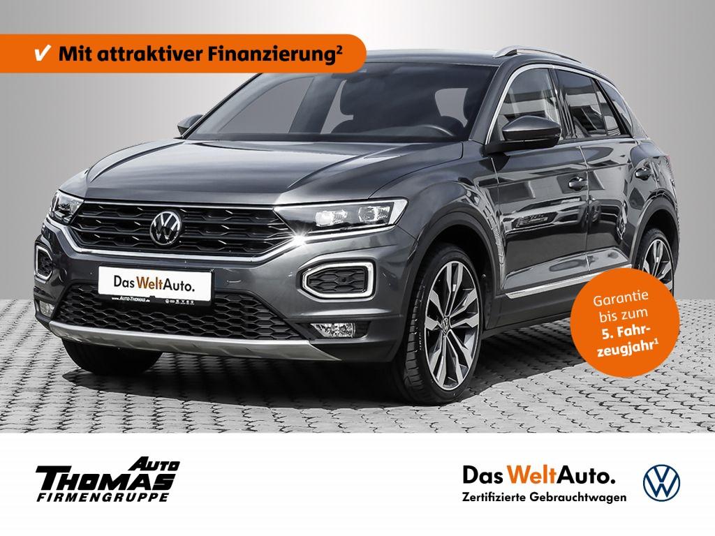 "Volkswagen T-Roc ""Sport"" 1.5 TSI DSG LED+ACTIVE+19"", Jahr 2021, petrol"