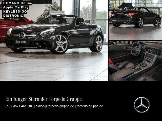 Mercedes-Benz SLC 300 AMG AIRSCARF+NAVI+COMAND+LED+AIRMATIC, Jahr 2019, Benzin