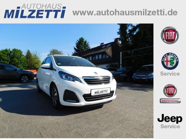 Peugeot 108 TOP ACTIVE 1.0 e-VTi 89mtl. EL.VERDECK KLIMA LM+WR BLUETOOTH, Jahr 2015, Benzin