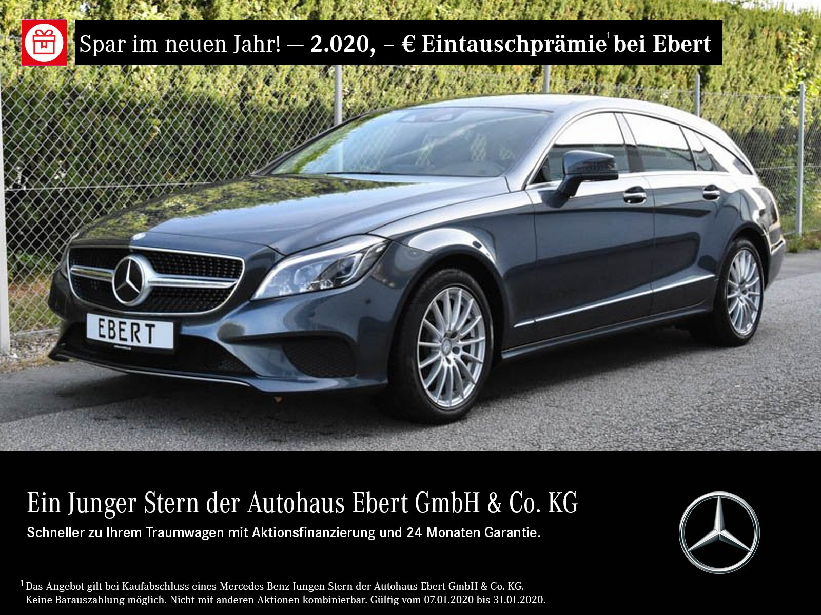 Mercedes-Benz CLS 350 d SB COMAND+DISTRONIC+360°+LED+BURME+EU6, Jahr 2015, diesel