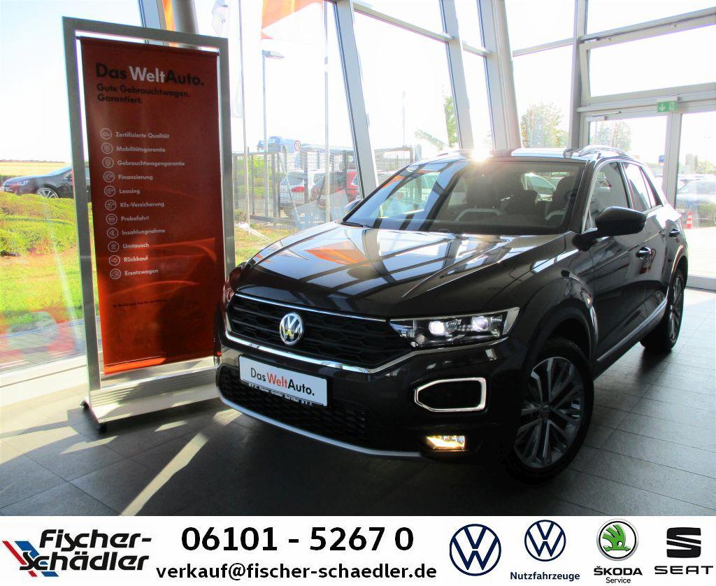 Volkswagen T-ROC Sport 1.5TSI*AHK*Navi*LED*RearView*FahrAss, Jahr 2019, Benzin