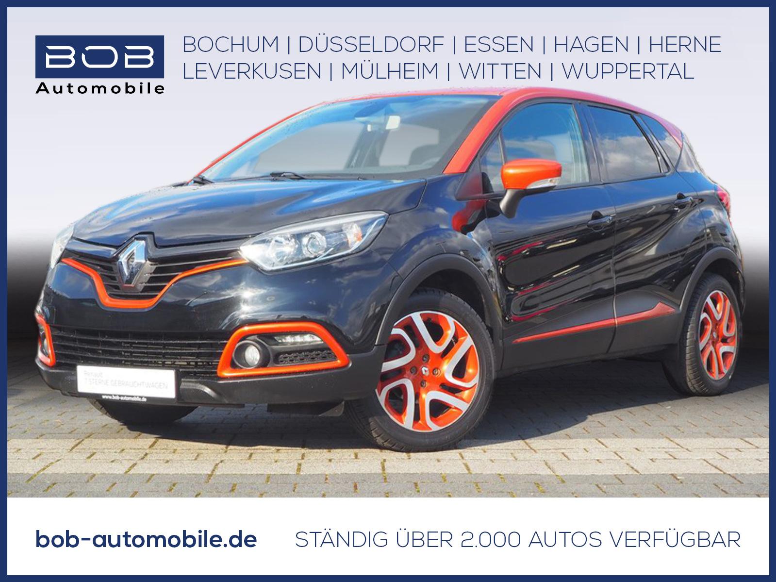 Renault Captur TCe 90 Luxe NAVI+KAMERA+SHZ+WINTERREIFEN, Jahr 2014, Benzin