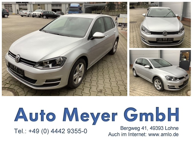 Volkswagen Golf 1.2 TSI BMT Comfortline Klima Einparkhilfe, Jahr 2014, Benzin