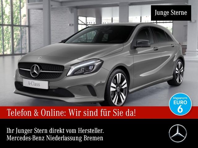 Mercedes-Benz A 220 d Urban Stdhzg LED AHK Night Kamera Navi PTS, Jahr 2018, Diesel