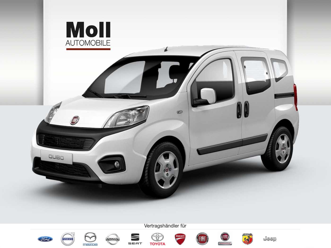 Fiat Qubo 1.4 8V Lounge - Navi, Sitzheizung, Parksensoren, Jahr 2018, Benzin