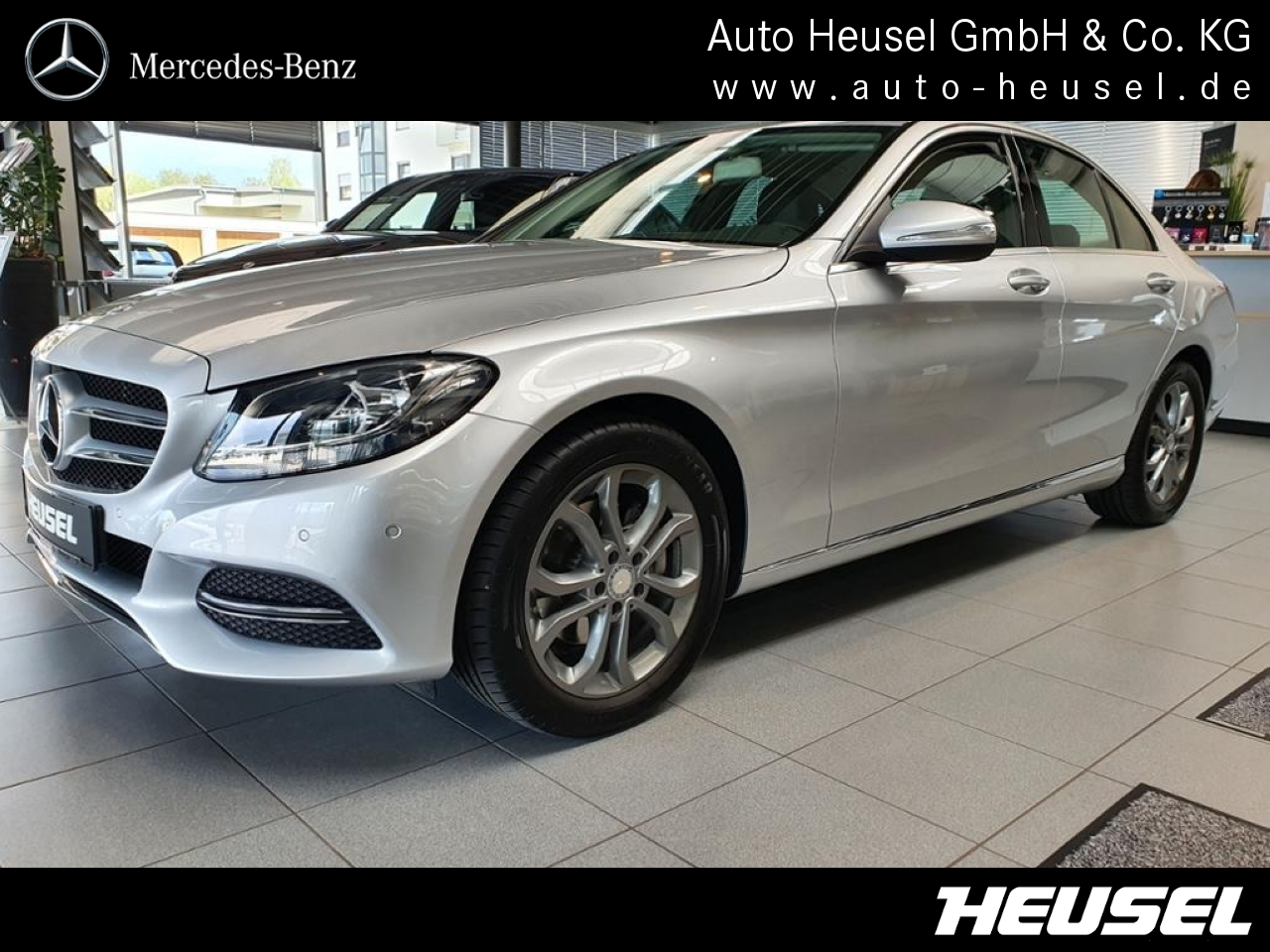 Mercedes-Benz C 200 Avantgarde *AHK*Navi*PTS*SHZ*Tempomat*, Jahr 2014, Benzin
