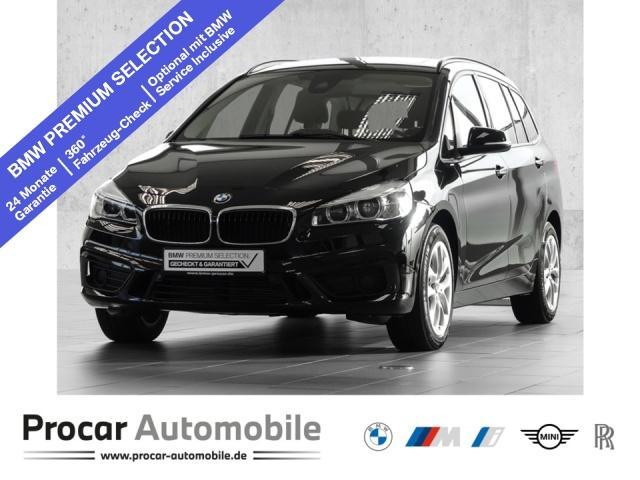 BMW 220 Gran Tourer Aut. PANO NAV LED AHK KAMERA, Jahr 2017, Benzin