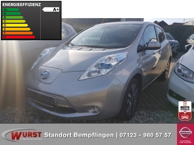 Nissan Leaf Tekna (Inkl. Batterie 24 kWh) Rundumdsichtkamera, Jahr 2014, electric