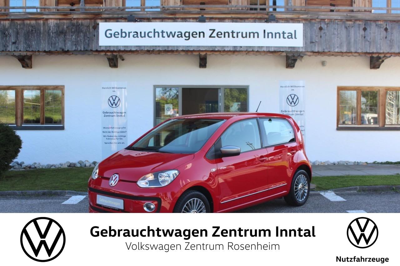 Volkswagen up! 1,0 cheer up! 4-türig (Klima,Sitzhzg.), Jahr 2014, Benzin