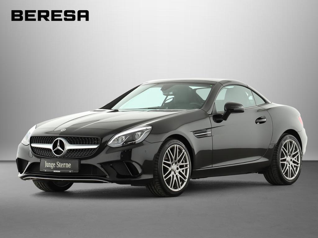 Mercedes-Benz SLC 180 BRABUS Sport Pano.-Dach LED ILS, Jahr 2018, petrol