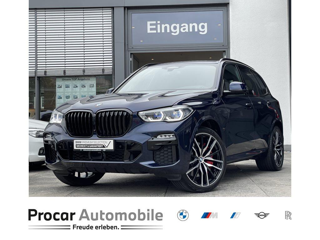 BMW X5 M50i 22 PA+ DA Pr. M Sitze 2-Achs-Luftfeder., Jahr 2021, Benzin