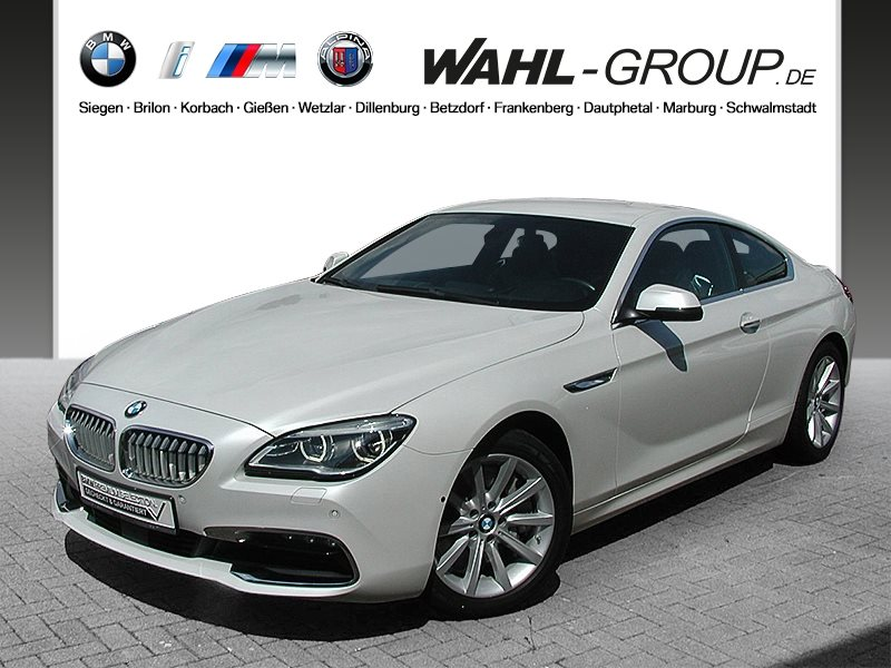 BMW 650i xDrive Coupé Head-Up HK HiFi LED Standhzg., Jahr 2015, Benzin