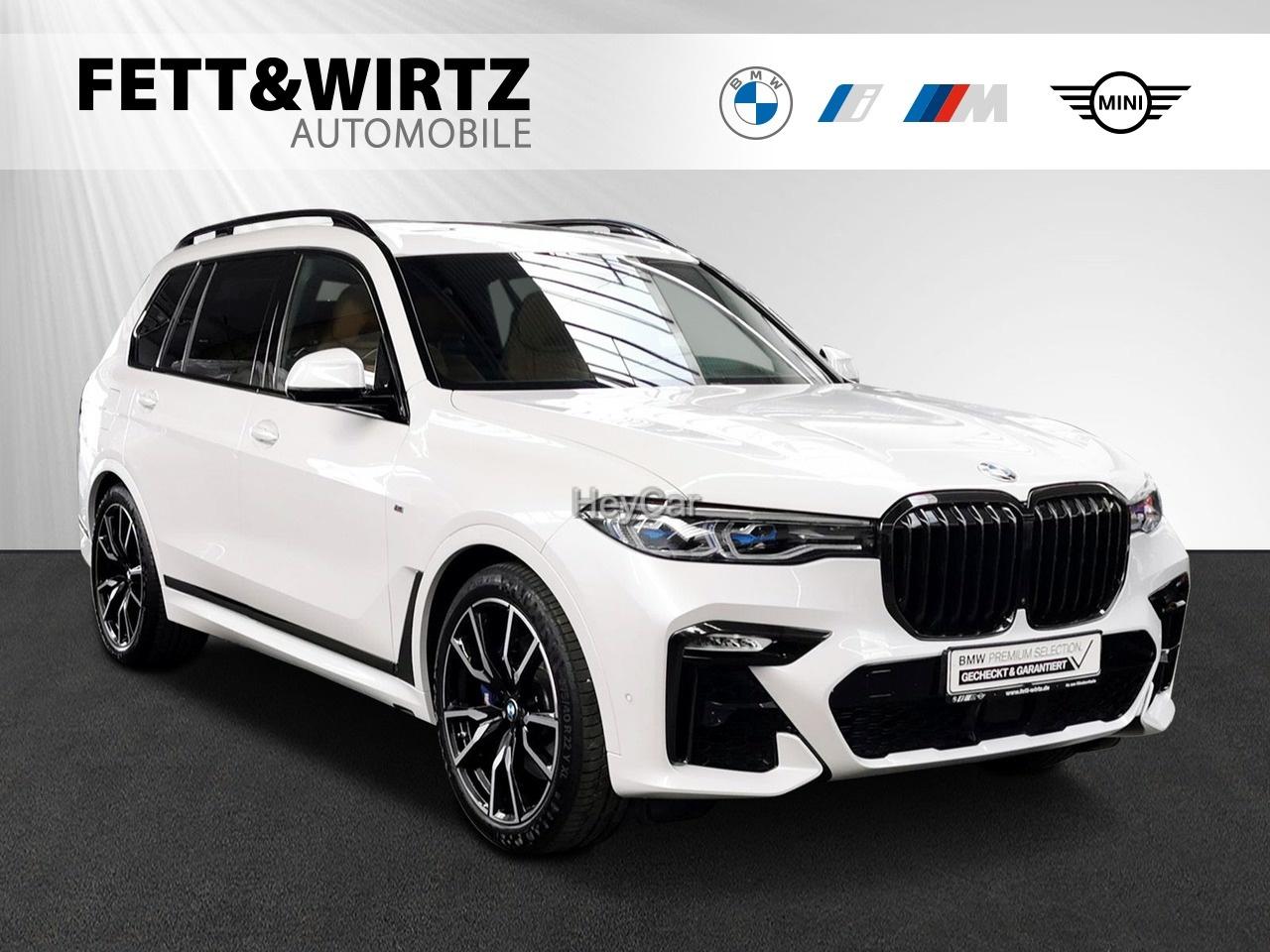BMW X7 xDrive40d MSport 22'' AHK H&K DAProf Standhzg., Jahr 2020, Diesel